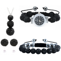 ItaliaSTYLE Bracelet - Shambala Black Value Bundle
