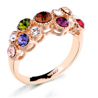 ItaliaSTYLE Ring - Rainbow Circles